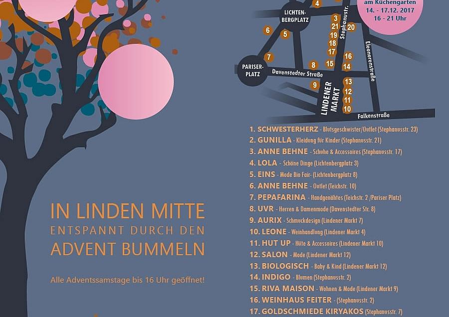 Adventsbummeln in Linden Mitte
