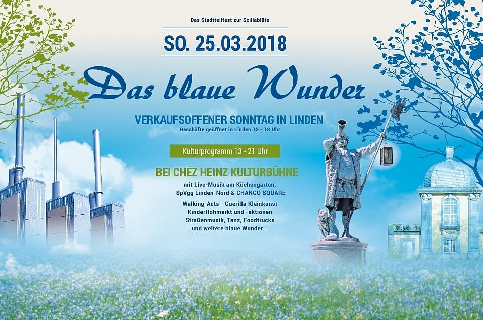 Das Blaue Wunder in Linden - 25. März.2018
