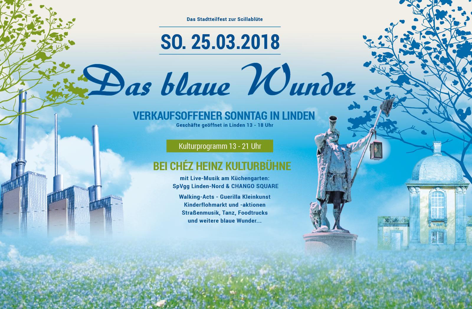Blaues Wunder 2018 in Linden