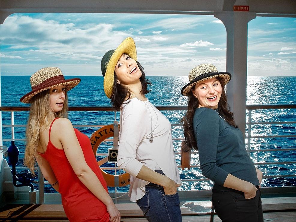 HutUp Sommer Strandkappe Damenhut