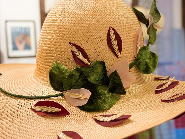 HutUp Samtblumen Damenhut