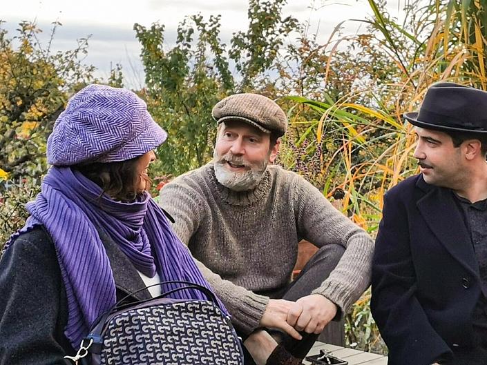 HutUp Baskenmütze Damen