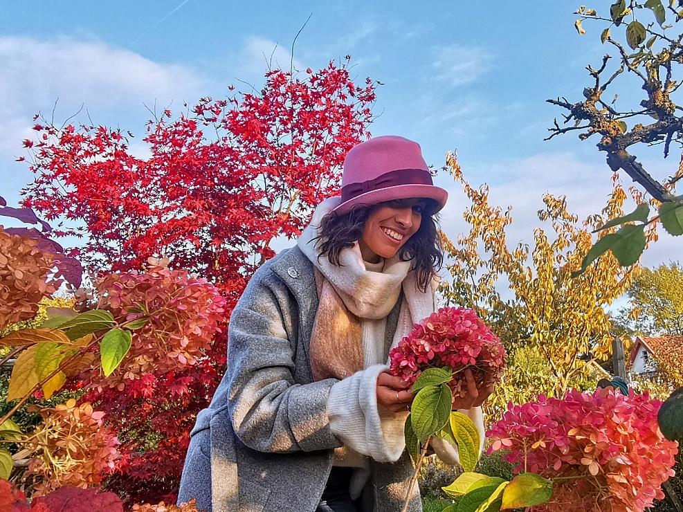 HutUp Herbstfarbenpracht Damenhut