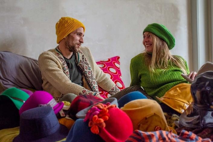 HutUp Wollmützen knallige Farben
