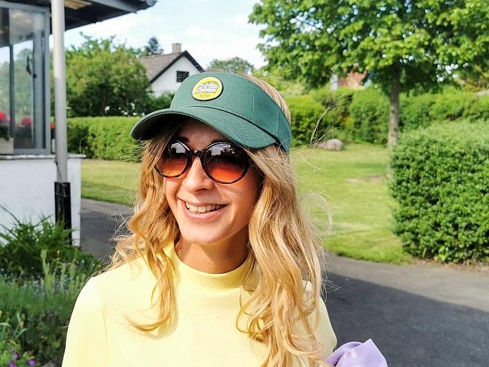 HutUp Tennis Cap Damen Golf-Sport-Kappe-Sonnenschutz